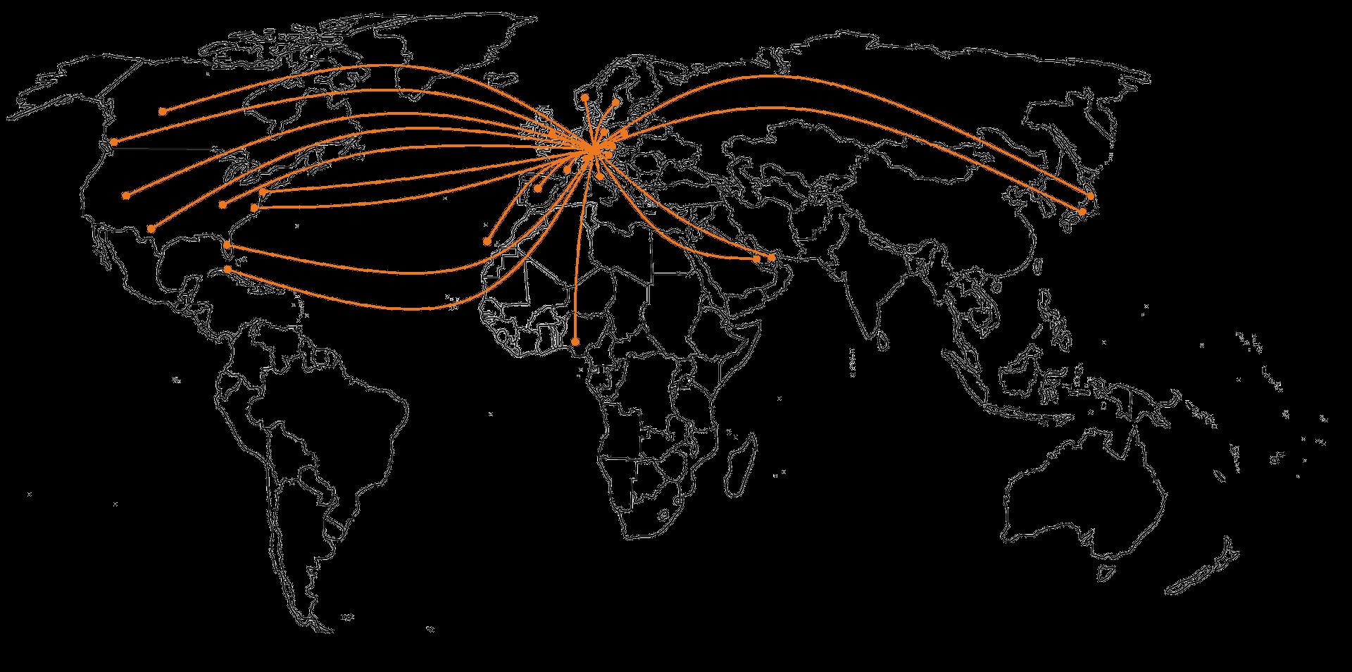 Das BW Ingenieurbüro für Statik, Dynamik und Fliegende Bauten ist weltweit vernetzt.